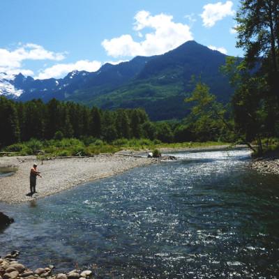 North Fork Stillaguamish River Summer Fishing