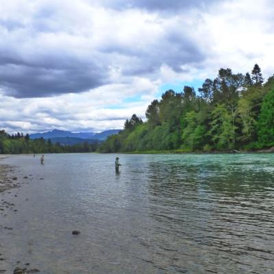 Skagit Salmon Fishing