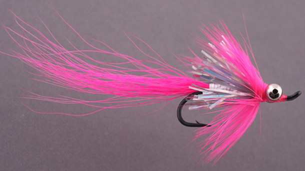 Fly Pattern: Pink Hot Shot Comet