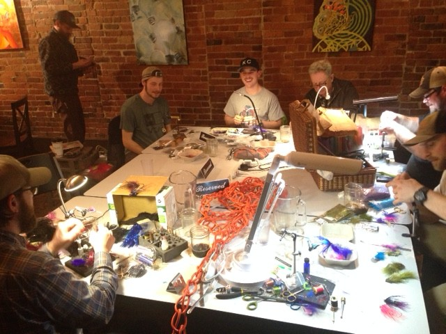 Confluence Open Tying Night At Brandywine Kitchen The